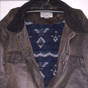 Cody James Oil Skin Jacket